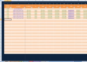 2ο στιγμιότυπο από το Excel Παρακολούθηση Έργων