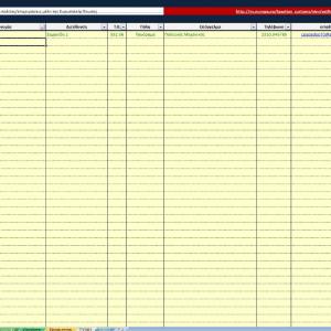 6ο στιγμιότυπο από το Excel Τιμολόγια